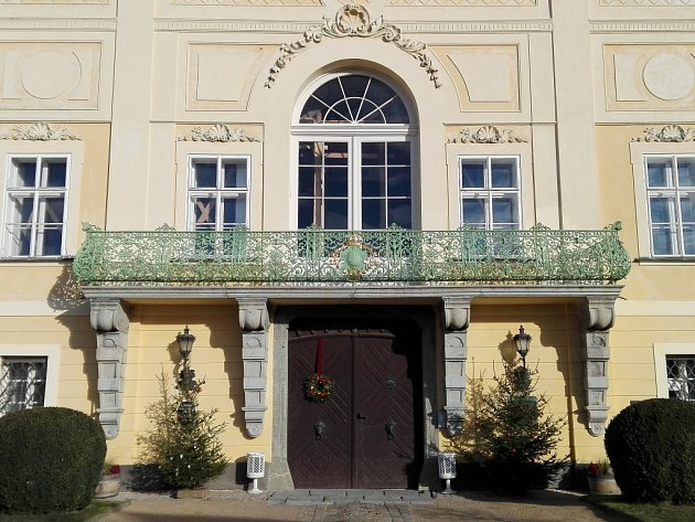 Oprava zámku Hořovice