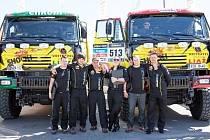 Posádky KM Racing před startem