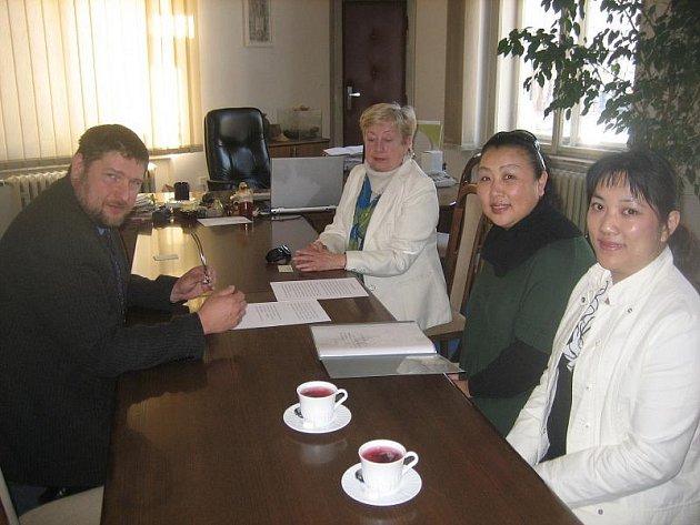 Čína se zajímá o Hořovice.