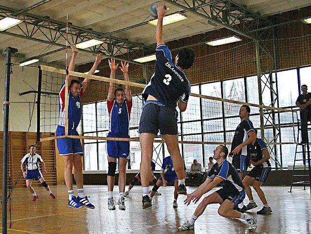 Momentka z utkání Hořovice - Čelakovice