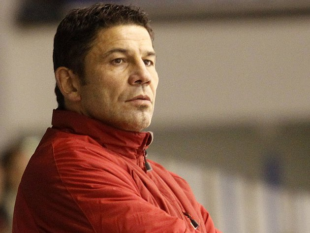 Trenér Richard Žemlička.