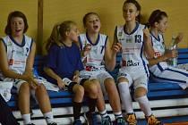 Strakonické basketbalistky mají důvod k radosti (ilustrační foto).