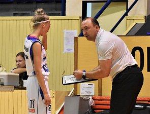Basketbalistky Strakonic tentokrát prohrály v Trutnově. Ilustrační foto.