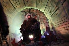 Pekelné peklo i s pekelným počasím ovládlo na víkend Štěchovice.