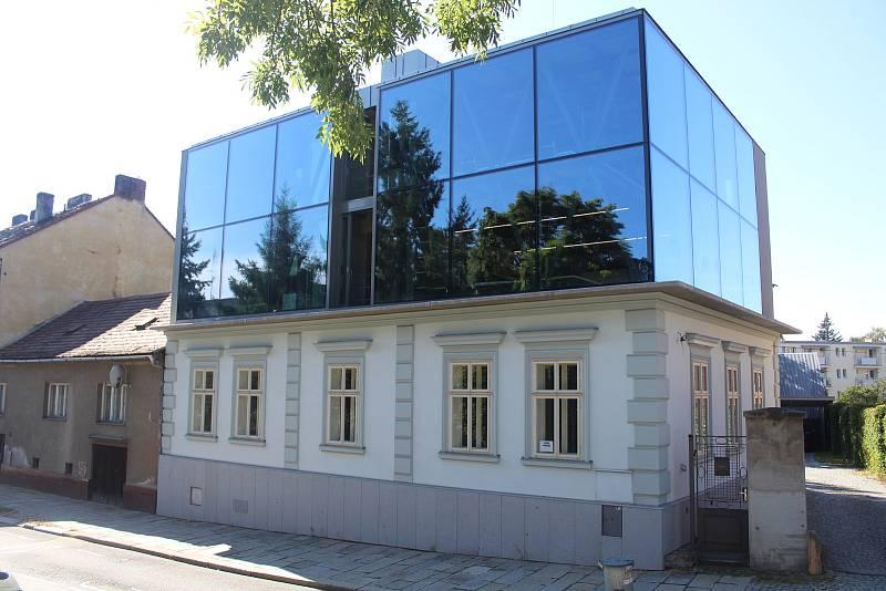 Projektový atelier v ulici Havlíčkova.