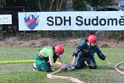 Soutěž byla spojena s oslavami 85 let od založení Sboru dobrovolných hasičů v Sudoměři.