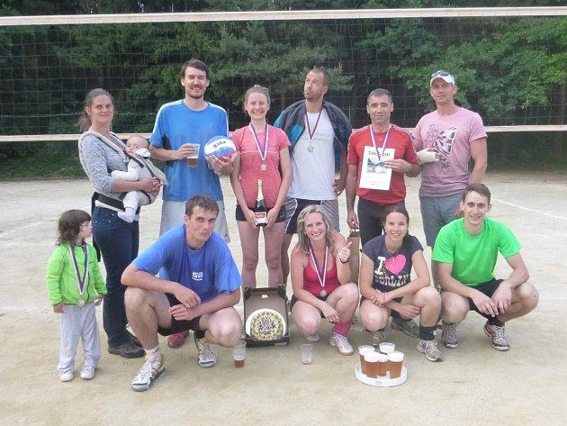 Volejbalový turnaj v Radomyšli.