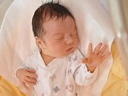 Stanislav Novák, Blatná, 12.7. 2017 ve 14.50 hodin, 3700 g. Malý Stanislav je prvorozený.