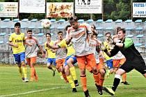 Junior Strakonice U19 si k přípravě pozval hráče FC Písek U17+18.