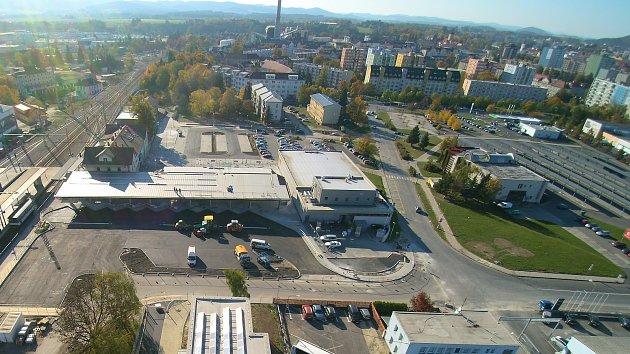 Nový terminál ve Strakonicích.