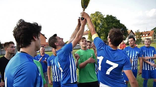 Vodňanští fotbalisté vyhráli finále jihočeské části Českého poháru.