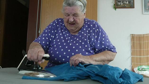 Vlasta Marešová (80) žije v DPS Sedlice šest let.