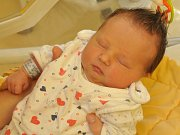 Nela Hašková, Zechovice, 31.5. 2017 ve 12.55 hodin, 3500 g. Malá Nela je prvorozená.