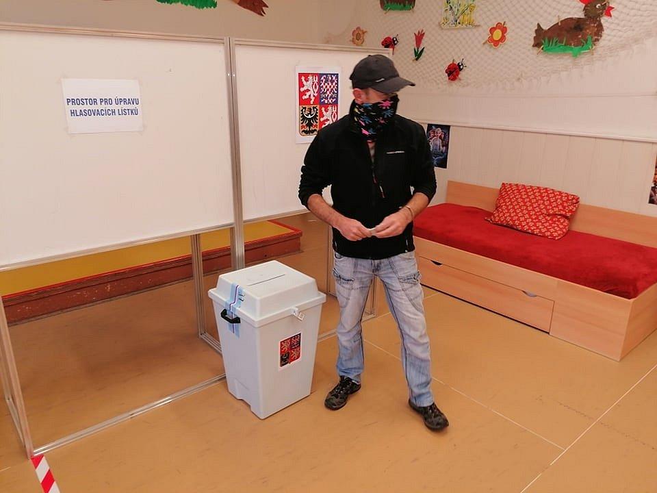 Volby ve Vimperku.