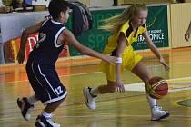 Vánoční turnaj v basketbalu.