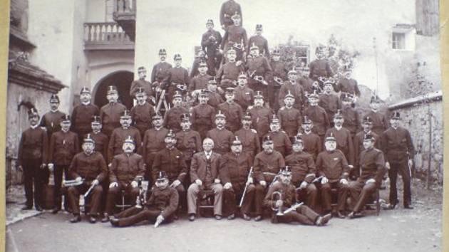 SDH Volyně vznikl v roce 1875.