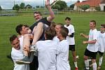 Sdružený tým dorostenců Osek/Sedlice slavil konečné prvenství v I. A třídě.