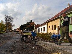 Ve Vodňanech se řidiči museli na podzim vyrovnat s několika uzavírkami.