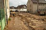 Následky lokální prudké bouře