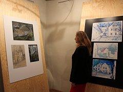 Výstava Jana Zákosteleckého potrvá v Maltézském sále strakonického hradu do 28. června.