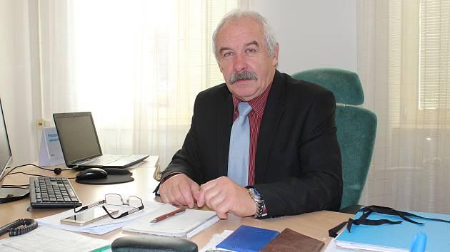 Místostarosta Josef Štrébl.