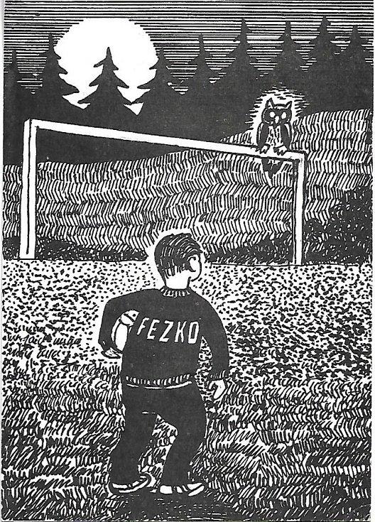Letní tábor fotbalistů Fezka.