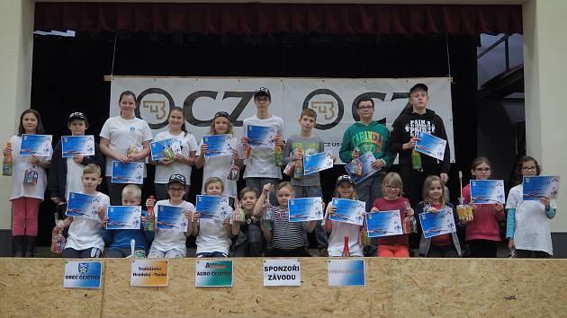 V sobotu 16. prosince se uskutečnil v obci Čejetice Vánoční střelecký turnaj ve střelbě ze vzduchovky 3 krát 5 ran na vzdálenost 10 metrů.