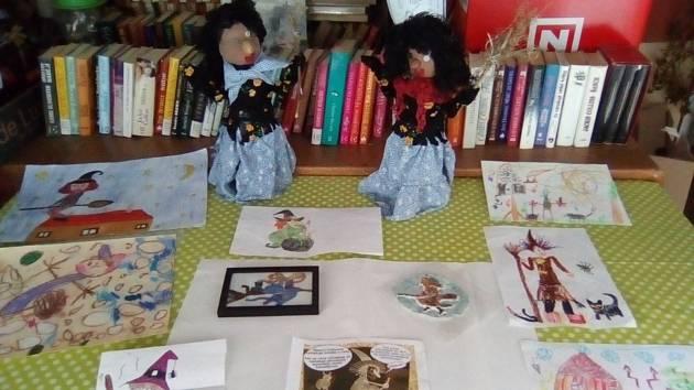 V řepickém antikvariátu pořádali soutěž na téma čarodějnic.