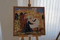 Prodejní výstava děl s náboženskou tématikou je k vidění ve vodňanské synagoze.
