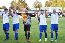 Fotbalový KP: Junior Strakonice - Tatran Prachatice 3:2.