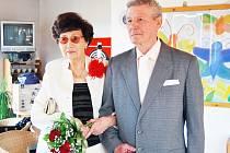 Manželé Vackovi si po 60 letech obnovili manželský slib.