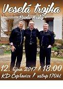 Čepřovice -  Kapela známá především z TV  Šlágr zavítá do čepřovického kulturního domu ve  čtvrtek 12. října