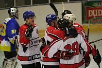 Hokejisté Strakonic porazili v sobotu 10. února v dalším kole krajské ligy doma Veselí nad Lužnicí 4:1 (0:0,2:0,2:1).