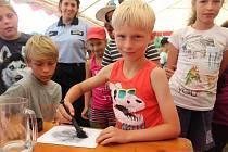 Spoustu aktivit s minimem samostatného volna, to je dětský tábor v Řepici u Strakonic