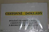 Kvůi výpadku datové sítě  bude omezen provoz oddělení evidence obyvatel, občanských průkazů a cestovních dokladů města Strakonice.