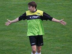 Sebastian Hosnedl rozhodl o vítězství Oseku v derby nad Katovicemi (2:1).