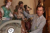 Církevní plastiky  ze svých sbírek představuje Muzeum středního Pootaví Strakonice v kapitulní síni strakonického hradu. Expozice je navíc doplněna průvodcem po nástěnných malbách, které se v síni dochovaly (malý snímek).