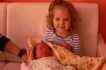 Prvním letošním miminkem narozeným ve strakonické porodnici byl Honzík Skládal ze Strakonic.