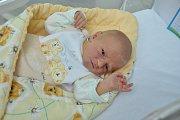 Petr Šleis, Blatná, 25.1.2018 ve 3.27 hodin, 3360 g. Malý Petr je prvorozený.
