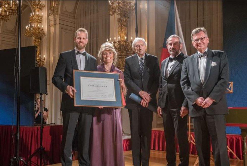 Předávání ceny Opera Historica 2019.