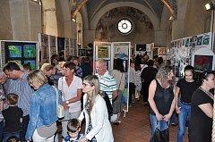 V kapitulní síni strakonického hradu byla v úterý 24. dubna zahájena výstava výtvarných prací žáků ZUŠ Strakonice.