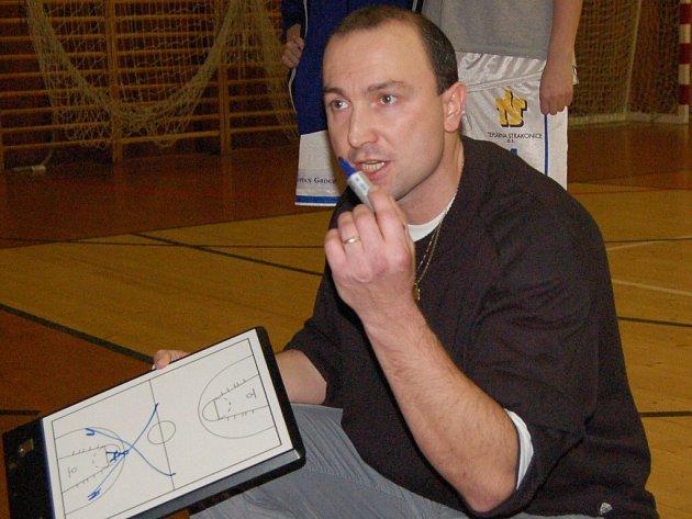 Trenér Petr Martínek