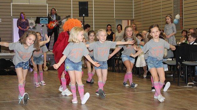 Dětský ples v Řepici.