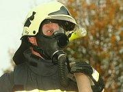 Strakoničtí dobrovolní hasiči v akci.