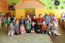 Děti z Mateřské školy v Drahonicích.