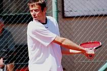 Strakonický tenista Tomáš Fiala.