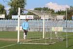 Z utkání Strakonice ČFL - Internacionálové 4:5 (penalty 5:4).