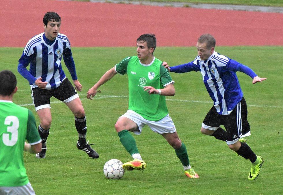 Víkend přinese řadu zajímavých fotbalových zápasů v kraji i okrese.
