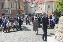 Na Dubovci si lidé připomněli 72 let od konce druhé světové války.