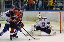 Strakoničtí hokejisté padli ve Vimperku nejtěsnějším výsledkem 3:4.